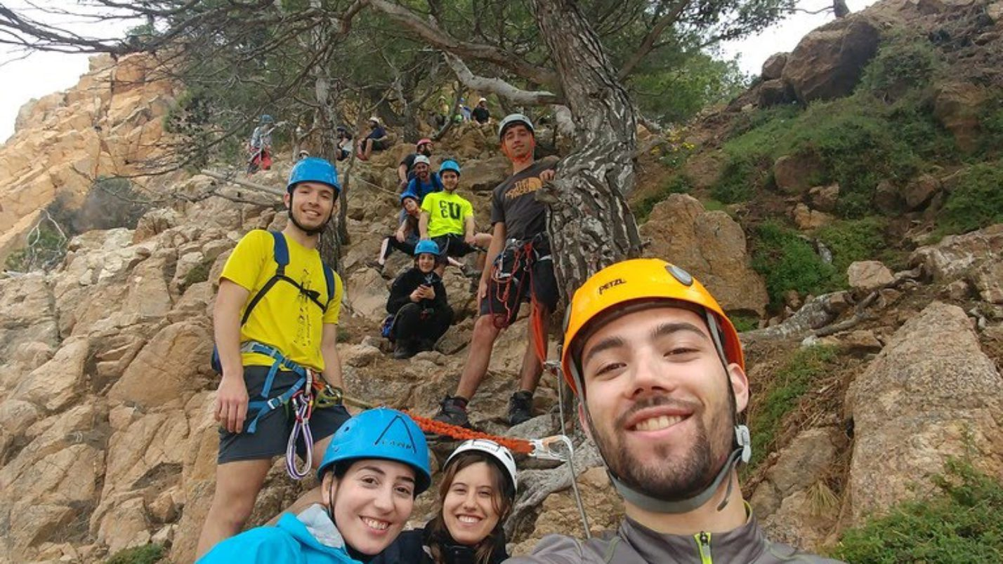 Grup de Joves – Via Ferrata Cala del Molí 26 de Maig 2019