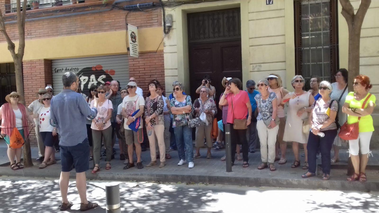Sortida Cultural St Andreu del Palomar18 de Juny 2017