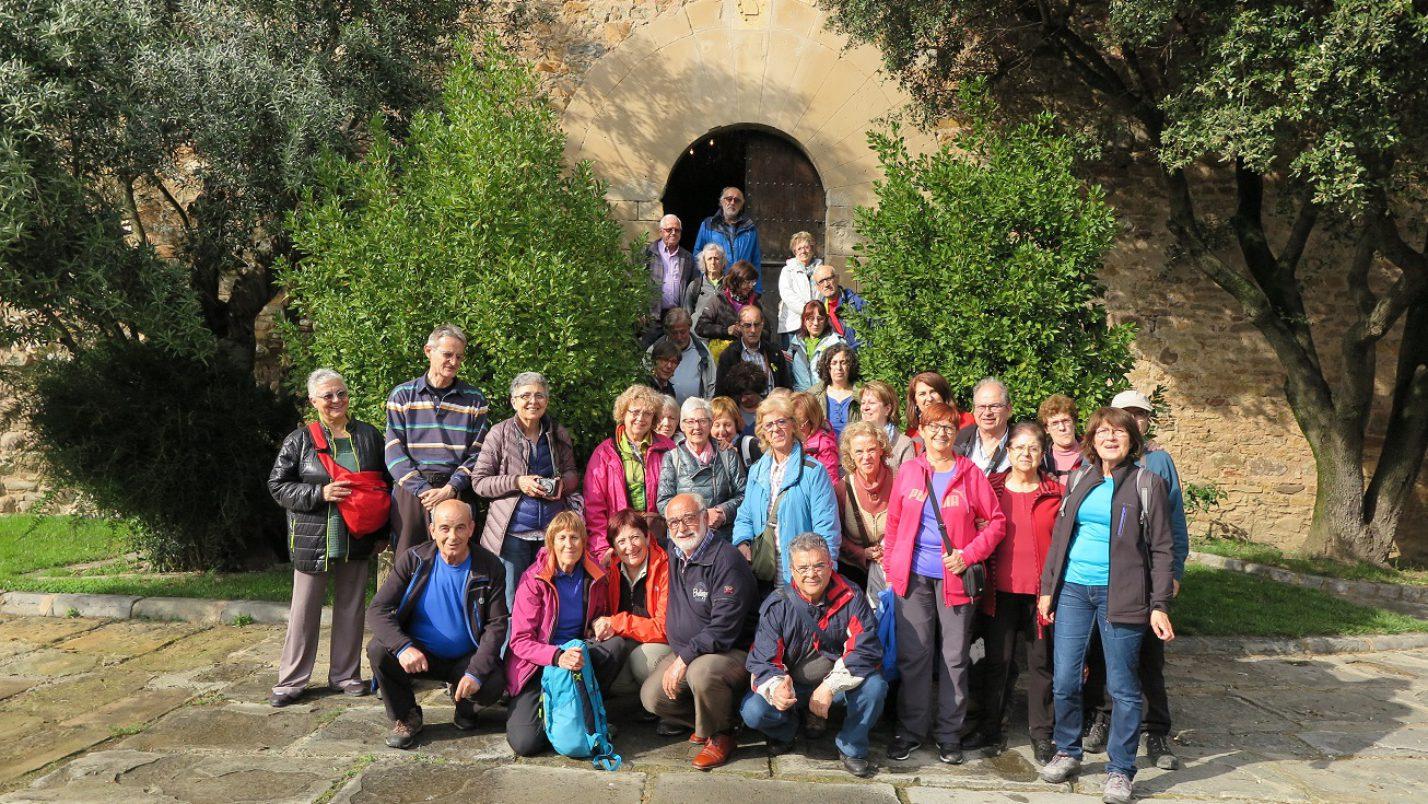 Sortida cultural al castell de Montesquiu 6 de Maig 2018